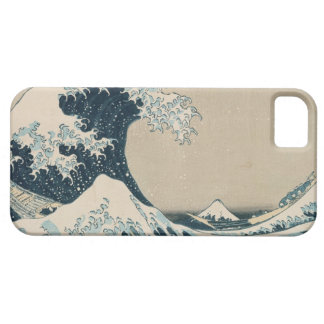 The Great Wave of Kanagawa, Views of Mt. Fuji iPhone SE/5/5s Case
