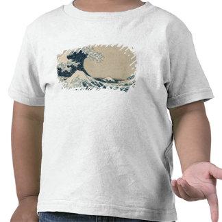 The Great Wave of Kanagawa Views of Mt Fuji T-shirts
