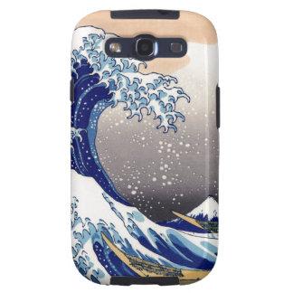 The Great Wave off Kanagawa - 神奈川沖浪裏 Samsung Galaxy SIII Covers