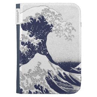 The Great Wave off Kanagawa (神奈川沖浪裏) Kindle Folio Case