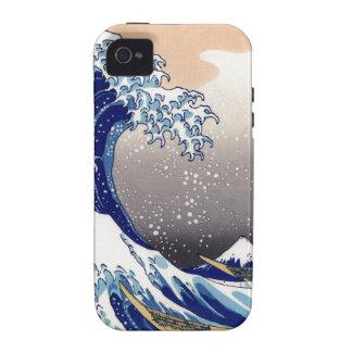 The Great Wave off Kanagawa - 神奈川沖浪裏 iPhone 4 Cases