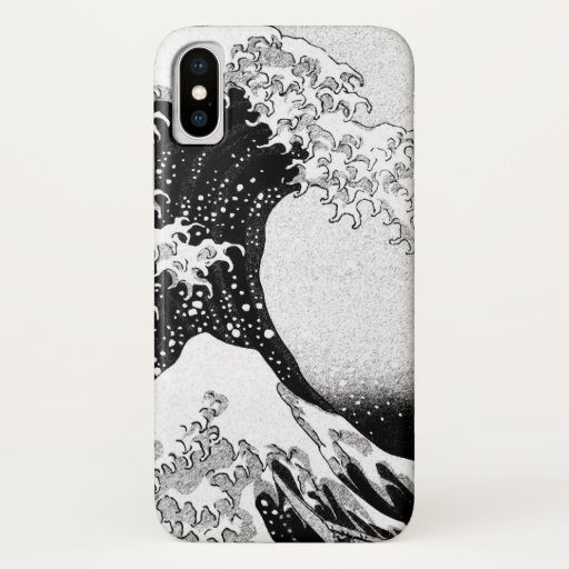 The Great Wave off Kanagawa (神奈川沖浪裏) iPhone XS Case
