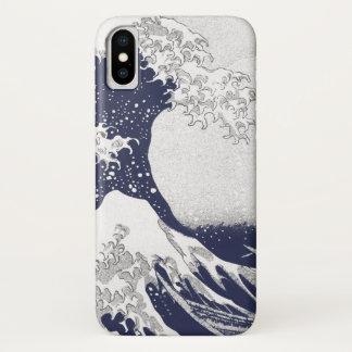 The Great Wave off Kanagawa (神奈川沖浪裏) iPhone X Case