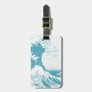 The Great Wave off Kanagawa 神奈川沖浪裏 Luggage Tag