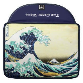 The Great Wave off Kanagawa (神奈川沖浪裏) MacBook Pro Sleeves