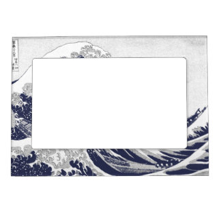 The Great Wave off Kanagawa (神奈川沖浪裏) Magnetic Frame