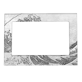 The Great Wave off Kanagawa (神奈川沖浪裏) Magnetic Photo Frame