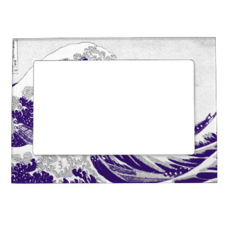 The Great Wave off Kanagawa (神奈川沖浪裏) Magnetic Picture Frame