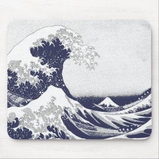 The Great Wave off Kanagawa (神奈川沖浪裏) Mousepads