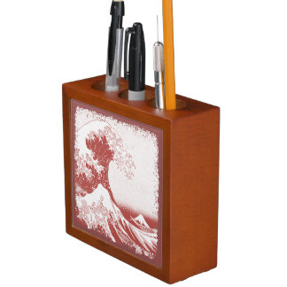 The Great Wave off Kanagawa (神奈川沖浪裏) Pencil Holder