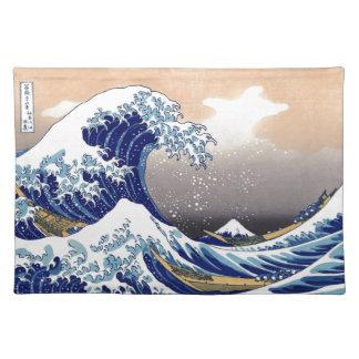 The Great Wave off Kanagawa - 神奈川沖浪裏 Placemat