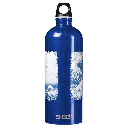 The Great Wave off Kanagawa (神奈川沖浪裏) SIGG Traveler 1.0L Water Bottle
