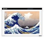 "The Great Wave off Kanagawa - 神奈川沖浪裏 17"" Laptop Skins"