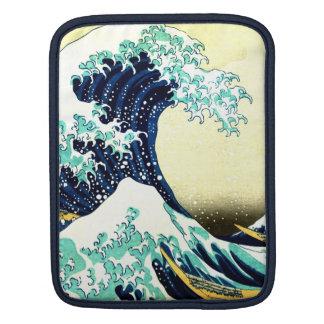 The Great Wave off Kanagawa (神奈川沖浪裏) Sleeve For iPads
