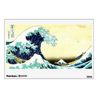 The Great Wave off Kanagawa (神奈川沖浪裏) Wall Decal