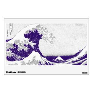 The Great Wave off Kanagawa (神奈川沖浪裏) Wall Sticker