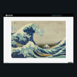 "The Great Wave off Kanagawa 15&quot; Laptop Skins<br><div class=""desc"">The Great Wave off Kanagawa The Great Wave off Kanagawa, also known as The Great Wave or simply The Wave, is a woodblock print by the Japanese artist Katsushika Hokusai. Example of ukiyo-e art, it was published sometime between 1830 and 1833 as the first in Hokusai&#39;s series Thirty-six Views of...</div>"