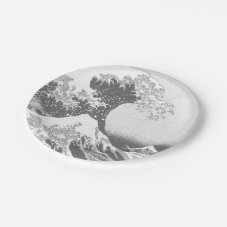The Great Wave off Kanagawa 7 Inch Paper Plate