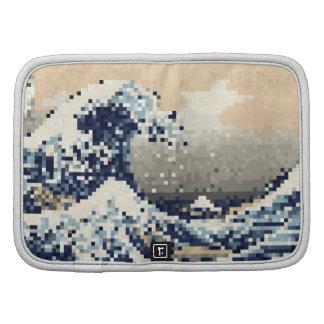 The Great Wave off Kanagawa 8 Bit Pixel Art Planners
