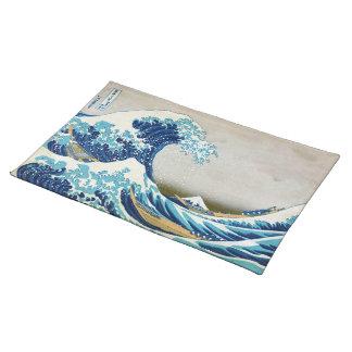 The Great Wave off Kanagawa American MoJo Placemat Cloth Place Mat