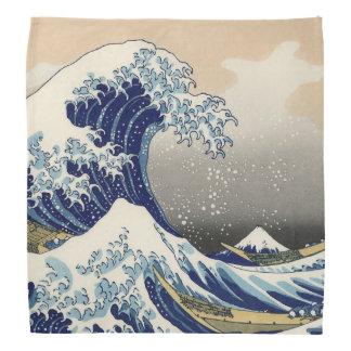 The Great Wave off Kanagawa Bandana