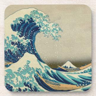 The Great Wave off Kanagawa Beverage Coaster