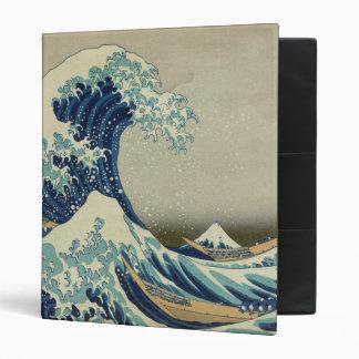 The Great Wave off Kanagawa Binder
