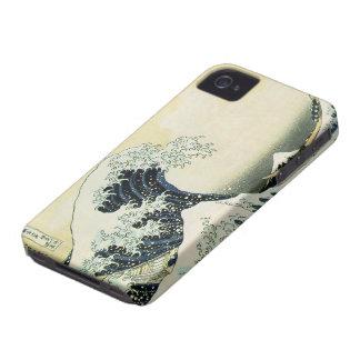 The Great Wave off Kanagawa by Katsushika Hokusai iPhone 4 Case-Mate Cases