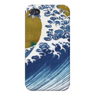 The great wave off Kanagawa by Katsushika Hokusai iPhone 4 Cover