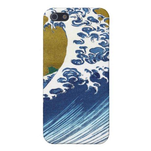 The great wave off Kanagawa by Katsushika Hokusai iPhone 5/5S Cases