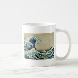 The Great Wave off Kanagawa by Katsushika Hokusai Classic White Coffee Mug