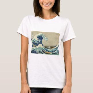 The Great Wave off Kanagawa by Katsushika Hokusai T-Shirt