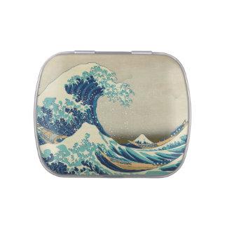 The Great Wave off Kanagawa Candy Tins