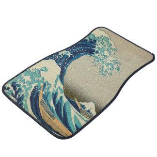 The Great Wave off Kanagawa Car Mat