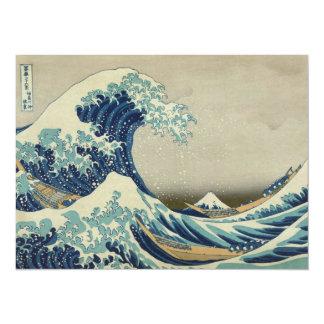 The Great Wave off Kanagawa Card