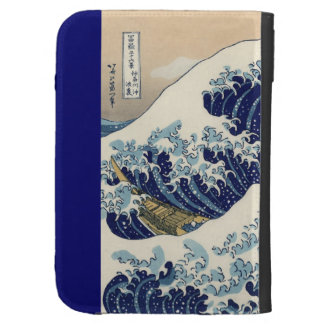 The Great Wave Off Kanagawa Case For Kindle