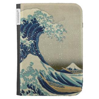 The Great Wave off Kanagawa Kindle Case
