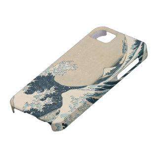 The Great Wave off Kanagawa iPhone 5 Cases