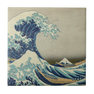 The Great Wave off Kanagawa Ceramic Tile