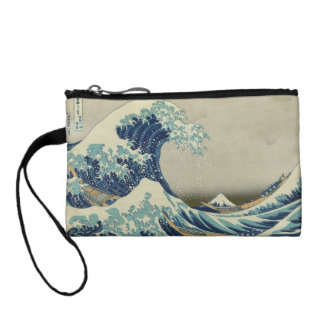 The Great Wave off Kanagawa Change Purse