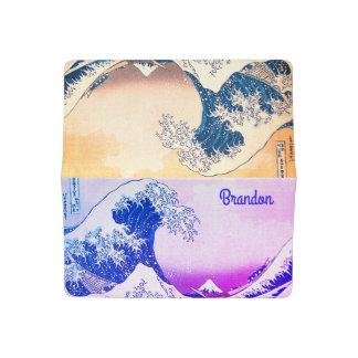The Great Wave Off Kanagawa Checkbook Cover