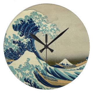 The Great Wave off Kanagawa Wall Clocks