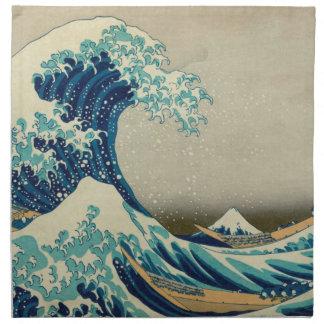The Great Wave off Kanagawa Cloth Napkin