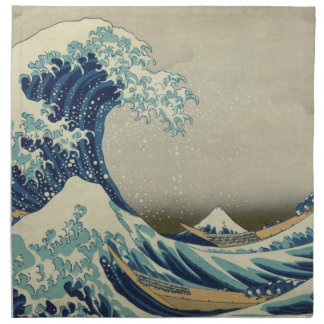 The Great Wave off Kanagawa Cloth Napkins