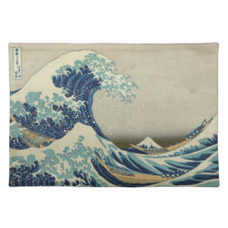 The Great Wave off Kanagawa Cloth Placemat