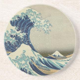 The Great Wave off Kanagawa Drink Coasters