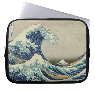 The Great Wave off Kanagawa Computer Sleeve