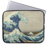 The Great Wave off Kanagawa Computer Sleeves