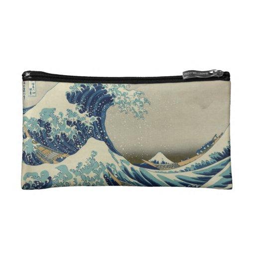 The Great Wave off Kanagawa Cosmetic Bag