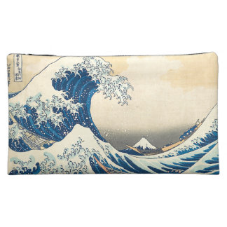 """The Great Wave Off Kanagawa"" Cosmetic Bag"